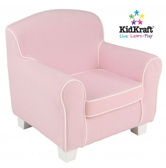 KidKraft Laguna Chair with Pink Piping