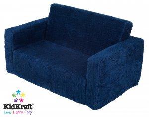 KidKraft Lil Lounger Blueberry Chenille