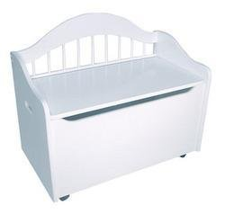 KidKraft Limited Edition Toy Box - White