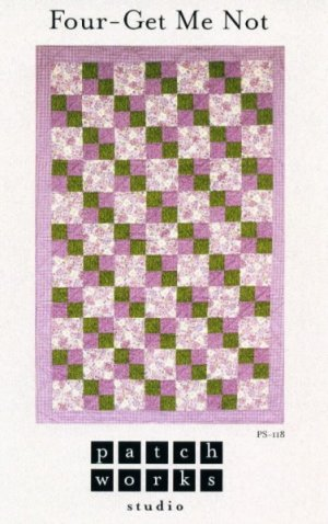 Quilt Pattern - Forget Me Not