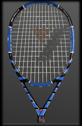Graphite Spin Weapon 14x15 116si ATP Legal Tennis Racket
