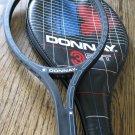 NOS new donnay 3set fiberglass tennis racket