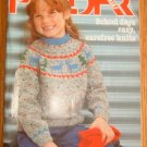 PHILDAR School Days Childrens Knitting Pattern Book #92