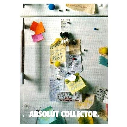 ABSOLUT COLLECTOR Vodka Magazine Ad MEN'S NAMES