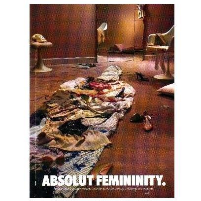 ABSOLUT FEMININITY Vodka Magazine Ad
