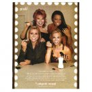 THE CAST OF THE VIEW got milk? Milk Mustache Magazine Ad © 2006