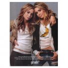 MARY KATE & ASHLEY OLSEN got milk? Milk Mustache Magazine Ad © 2004