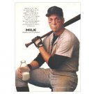 CAL RIPKEN JR Milk Mustache Magazine Ad © 1996