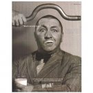 CURLY HOWARD got milk? Milk Mustache Magazine Ad  1999