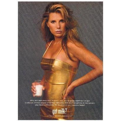 DAISY FUENTES got milk? Milk Mustache Magazine Ad © 1997