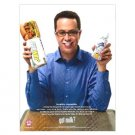 JARED FOGLE got milk? Milk Mustache Magazine Ad © 2008