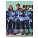 SCRUBS got milk? Milk Mustache Magazine Ad  2002