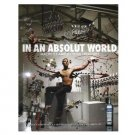 IN AN ABSOLUT WORLD Vodka Magazine Ad QUARTET MACHINE