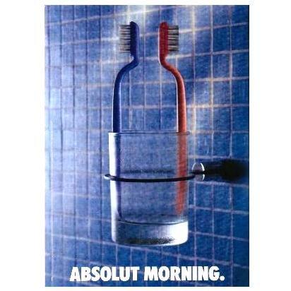 ABSOLUT MORNING Vodka Magazine Ad