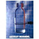 ABSOLUT MORNING Vodka Magazine Ad
