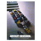 ABSOLUT OBSESSION Vodka Magazine Ad