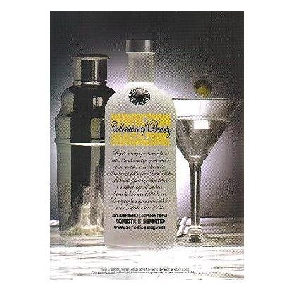 PERFECTION MAGAZINE Absolut Vodka Parody Ad