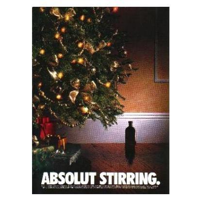ABSOLUT STIRRING Vodka Magazine Ad