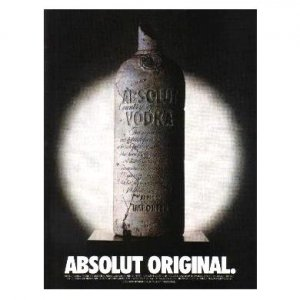 ABSOLUT ORIGINAL Vodka Magazine Ad