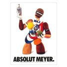 ABSOLUT MEYER Vodka Magazine Ad