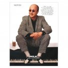 PAUL SHAFFER Milk Mustache Magazine Ad © 1997