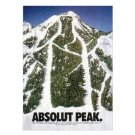 ABSOLUT PEAK Vodka Magazine Ad