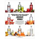 ABSOLUT VODKA Italian Language Magazine Ad