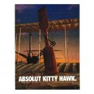 ABSOLUT KITTY HAWK Vodka Magazine Ad