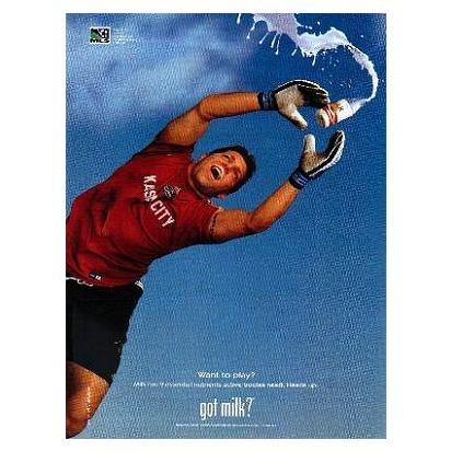 TONY MEOLA got milk? Milk Mustache Magazine Ad © 2001