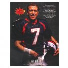JOHN ELWAY WITH GOOD SPORT FLASH got milk? Milk Mustache Magazine Ad © 1998