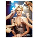 HEIDI KLUM got milk? Magazine Ad FINISHING TOUCH © 2011