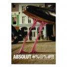 ABSOLUT CURSE *%@*/@#!! Vodka Magazine Ad