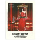 ABSOLUT BLOODY w/ Kate Beckinsale Vodka Magazine Ad