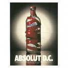 ABSOLUT D.C. Vodka Magazine Ad