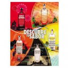 DESCUBRE TU SABOR Absolut Vodka Magazine Ad