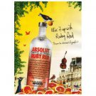 MIX IT UP WITH RUBY RED Absolut Vodka Magazine Ad