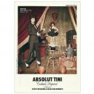 ABSOLUT TINI Vodka Magazine Ad