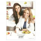 MICHAELA & NINA DOBREV got milk? Milk Mustache Magazine Ad