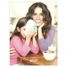 SALMA HAYEK & DAUGHTER got milk? Milk Mustache Magazine Ad