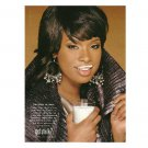 JENNIFER HUDSON got milk? Milk Mustache Magazine Ad  2010