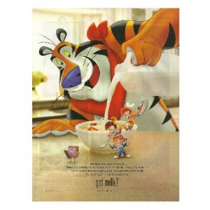 KELLOGG'S Tony the Tiger SNAP CRACKLE POP & MINI got milk? Ad © 2012 SPANISH TEXT