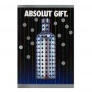 ABSOLUT GIFT - 8 Page Fold-Out Brochure w/ 4 Cocktail Recipes 1997