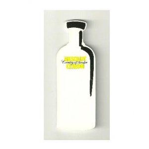 ABSOLUT CITRON Plastic Die-Cut Bottle Sticker