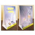ABSOLUT CITRON Table Tent Display