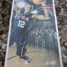 NBA MIAMI HEAT'S CHRIS BOSH got milk? Milk Mustache USA Today 2010 Newspaper Ad