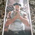WOLVERINE HUGH JACKMAN got milk? USA Today Newspaper Ad 2009
