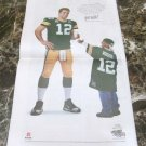 AARON ROGERS got milk? USA Today Newspaper Super Bowl XLV Victory Ad