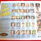 2004 SAMMY AWARDS got milk? USA Today Newspaper Ad - 2-PAGE CENTERFOLD