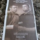 KURT WARNER and BEN ROETHLISBERGER Super Bowl XLIII got milk? Newspaper Ad