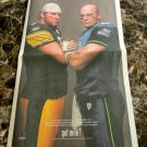 BEN ROETHLISBERGER and MATT HASSELBECK Super Bowl XL got milk? Newspaper Ad